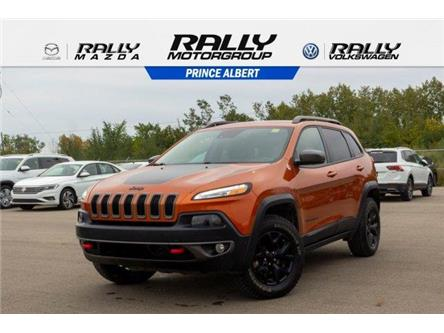 2015 Jeep Cherokee Trailhawk (Stk: V982) in Prince Albert - Image 1 of 11