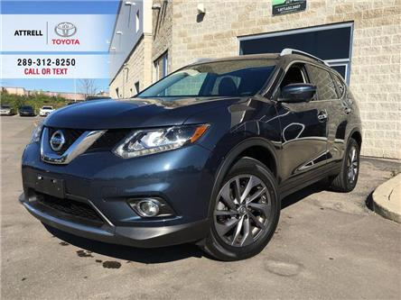 2016 Nissan Rogue SL AWD 360 CAMERA, BSM, NAVI, LEATHER, SUNROOF, AL (Stk: 44166A) in Brampton - Image 1 of 28