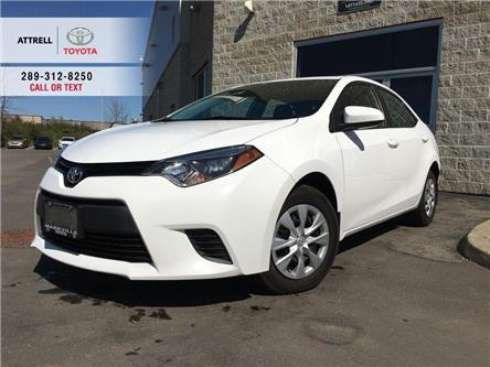 2016 Toyota Corolla XMAS SPECIAL CE POWER GROUP, STEERING WHEEL CONTRO (Stk: 44718A) in Brampton - Image 1 of 23