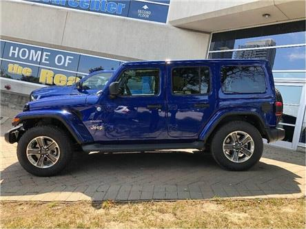 2019 Jeep Wrangler Unlimited Sahara (Stk: 194138DT) in Toronto - Image 2 of 17