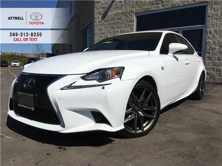 2015 Lexus IS 250 F SPORT 2 ALLOYS, NAVI, LEATHER, SUNROOF, BSM, HEA (Stk: 8706A) in Brampton - Image 1 of 29