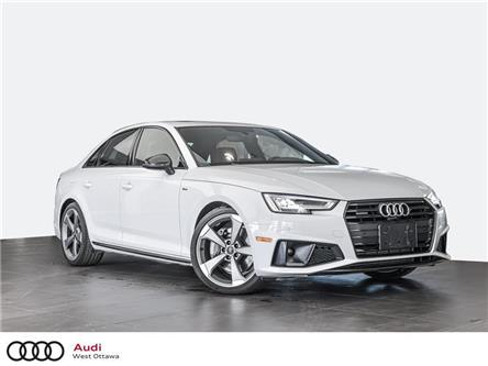 2019 Audi A4 45 Progressiv (Stk: 91617) in Nepean - Image 1 of 19