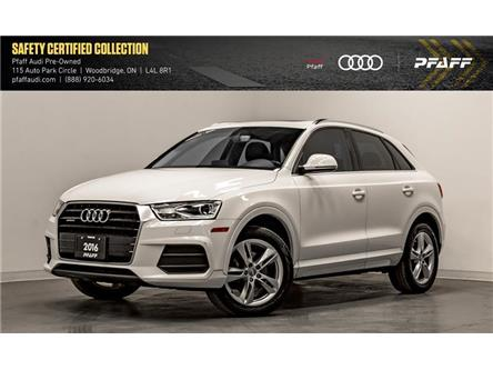 2016 Audi Q3 2.0T Progressiv (Stk: C7064) in Woodbridge - Image 1 of 22