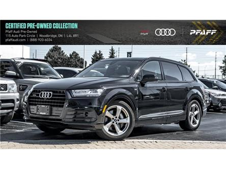 2019 Audi Q7 55 Technik (Stk: C7075) in Woodbridge - Image 1 of 22