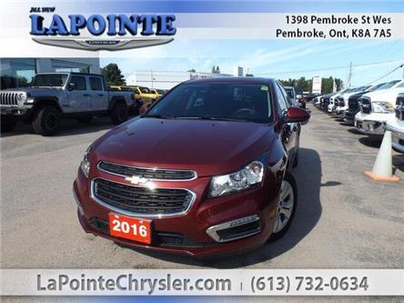 2016 Chevrolet Cruze Limited 1LT (Stk: P3491) in Pembroke - Image 1 of 26