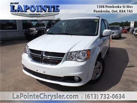 2017 Dodge Grand Caravan Crew (Stk: SL17570) in Pembroke - Image 1 of 29