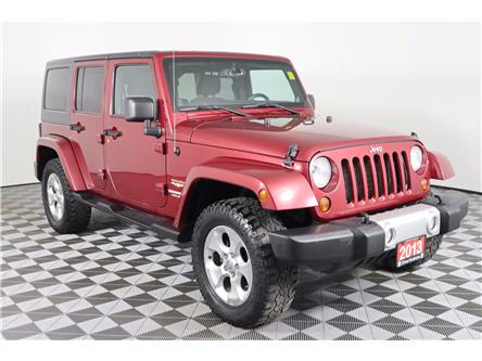 2013 Jeep Wrangler Unlimited Sahara (Stk: 19-327A) in Huntsville - Image 1 of 31