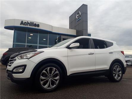 2013 Hyundai Santa Fe Sport 2.0T Premium (Stk: A9553A) in Milton - Image 1 of 12