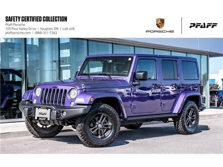 2017 Jeep Wrangler Unlimited Sahara (Stk: P13849AA) in Vaughan - Image 1 of 22