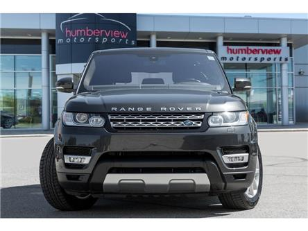 2016 Land Rover Range Rover Sport DIESEL Td6 HSE (Stk: 19HMS556) in Mississauga - Image 2 of 23