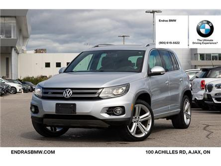 2013 Volkswagen Tiguan 2.0 TSI Highline (Stk: P5912A) in Ajax - Image 1 of 22