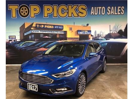 2017 Ford Fusion Titanium (Stk: 255812) in NORTH BAY - Image 1 of 28