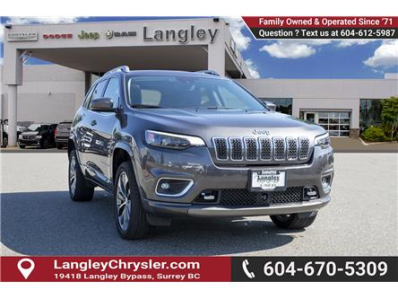2019 Jeep Cherokee Overland (Stk: EE910830) in Surrey - Image 1 of 23