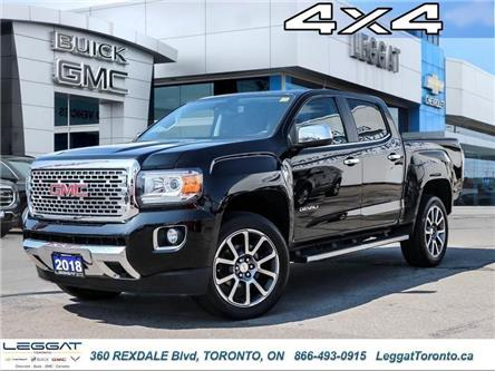 2018 GMC Canyon Denali (Stk: T11611) in Etobicoke - Image 1 of 26