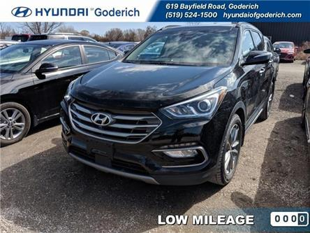 2017 Hyundai Santa Fe Sport 2.0T Ultimate (Stk: 90076A) in Goderich - Image 1 of 11