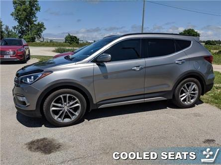 2017 Hyundai Santa Fe Sport 2.0T Ultimate (Stk: 90164A) in Goderich - Image 2 of 13