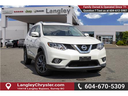 2016 Nissan Rogue SL (Stk: K467255A) in Surrey - Image 1 of 25