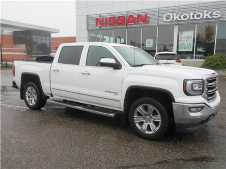 2018 GMC Sierra 1500 SLT (Stk: 9555) in Okotoks - Image 1 of 25