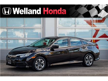 2016 Honda Civic LX (Stk: U19432) in Welland - Image 1 of 20