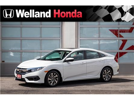 2017 Honda Civic EX (Stk: U19377) in Welland - Image 1 of 18