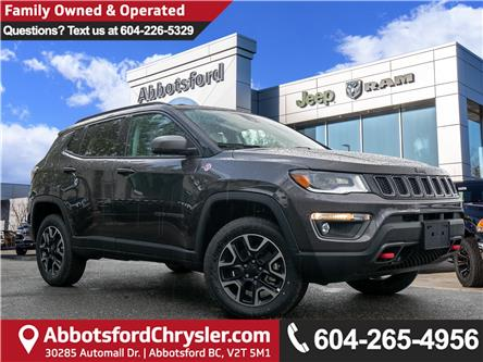 2019 Jeep Compass Trailhawk (Stk: K825676) in Abbotsford - Image 1 of 24