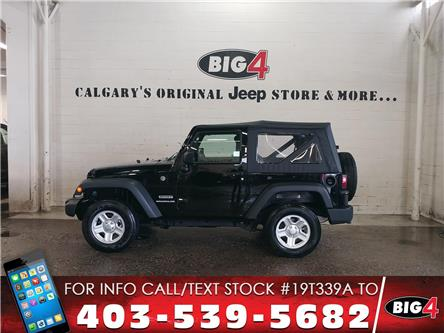 2017 Jeep Wrangler Sport (Stk: 19T339A) in Calgary - Image 1 of 12