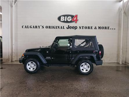 2017 Jeep Wrangler Sport (Stk: 19T339A) in Calgary - Image 2 of 12