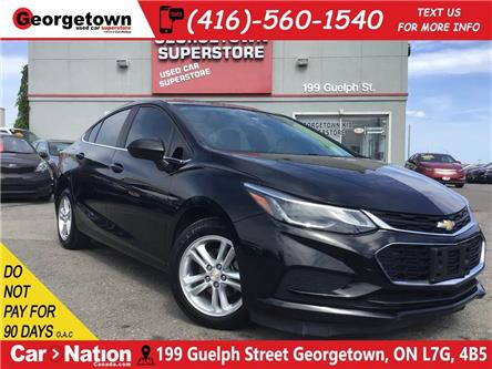 2017 Chevrolet Cruze LT | LEATHER | SUNROOF | TINTS | ALLOYS | BU CAM (Stk: P12318A) in Georgetown - Image 1 of 29