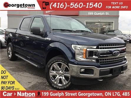 2018 Ford F-150 XTR | NAVI | CREW | 4X4 | 6 PASS | B/U CAM | 5.0L (Stk: P12341) in Georgetown - Image 1 of 29