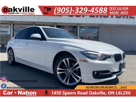 2014 BMW 320i xDrive   RED LEATHER   SUNROOF   BLUETOOTH (Stk: P12498) in Oakville - Image 1 of 20