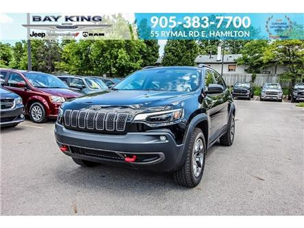 2019 Jeep Cherokee Trailhawk (Stk: 6869R) in Hamilton - Image 1 of 28