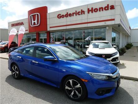 2016 Honda Civic Touring (Stk: U12619) in Goderich - Image 1 of 9