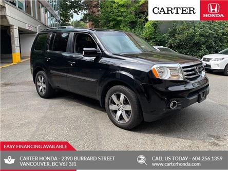 2012 Honda Pilot Touring (Stk: 1K52411) in Vancouver - Image 1 of 27