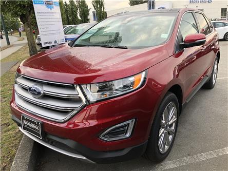 2018 Ford Edge Titanium (Stk: 186987) in Vancouver - Image 1 of 9