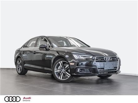 2017 Audi A4 2.0T Technik (Stk: 52307A) in Ottawa - Image 1 of 19