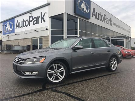 2012 Volkswagen Passat 2.0 TDI Highline (Stk: 12-01086MB) in Barrie - Image 1 of 24