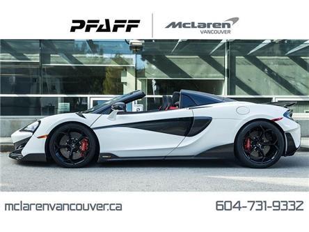 2020 McLaren 600LT Spider (Stk: MV0276) in Vancouver - Image 1 of 20