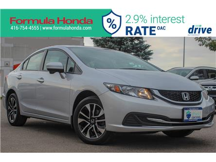 2015 Honda Civic EX (Stk: B11378) in Scarborough - Image 1 of 27