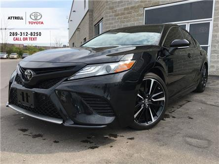 2018 Toyota Camry XSE LEATHER, PANO ROOF, ALLOY, SPOILER, TSS-P, SMA (Stk: 45538A) in Brampton - Image 1 of 26