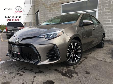 2017 Toyota Corolla SE UPGRADE HEATED STEERING, ALLOYS, MOONROOF, SPOI (Stk: 44613A) in Brampton - Image 1 of 28
