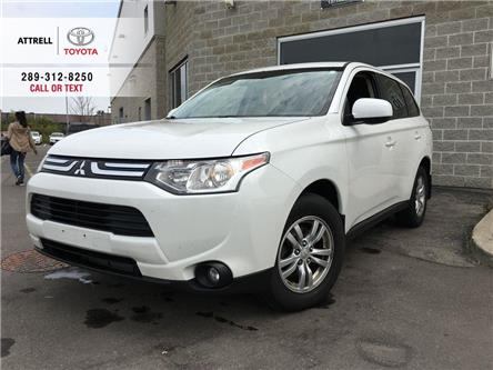 2014 Mitsubishi Outlander ES FWD ALLOY WHEELS, HEATED SEATS, FOG LAMPS, BLUE (Stk: 45409A) in Brampton - Image 1 of 24