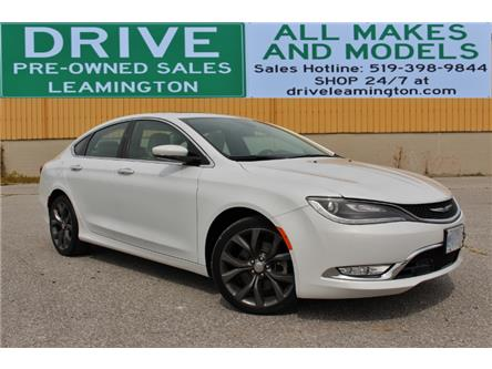 2015 Chrysler 200 C (Stk: D0119) in Leamington - Image 1 of 30