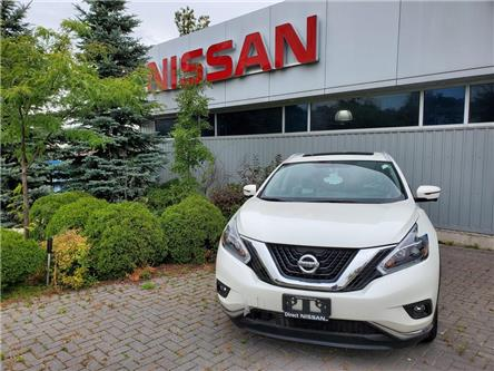 2018 Nissan Murano SL AWD | LOW FINANCE RATES (Stk: N3611) in Mississauga - Image 1 of 9