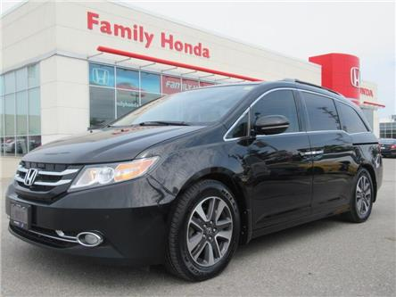 2016 Honda Odyssey Touring | REAR DVD | NAVI | BACK UP CAM (Stk: 505655P) in Brampton - Image 1 of 30