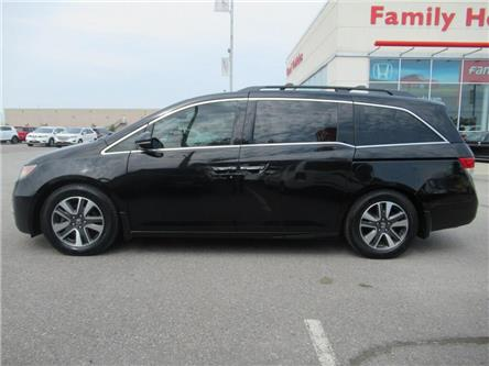 2016 Honda Odyssey Touring | REAR DVD | NAVI | BACK UP CAM (Stk: 505655P) in Brampton - Image 2 of 30