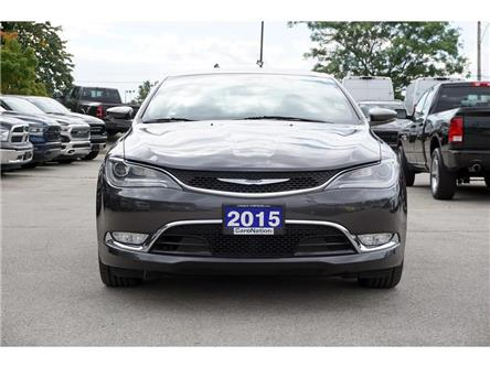 2015 Chrysler 200 C| SUN & SOUND GRP| NAV| HID| LED| PREMIUM GRP (Stk: K516A) in Burlington - Image 2 of 49