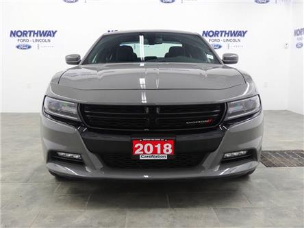 2018 Dodge Charger GT | AWD | NAV | PWR HTD SEATS | SUNROOF | (Stk: DR461) in Brantford - Image 2 of 46