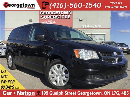 2017 Dodge Grand Caravan SXT | CAPTAIN CHAIRS | DUAL CLIMATE | ECO MODE (Stk: SR19187A) in Georgetown - Image 1 of 24