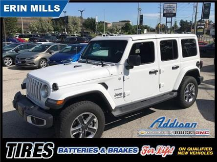 2019 Jeep Wrangler Unlimited Sahara (Stk: UM49911) in Mississauga - Image 2 of 21