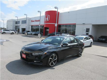2018 Honda Accord Sport (Stk: 27597L) in Ottawa - Image 1 of 18